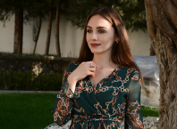 Günlük Şifon Elbise Modelleri