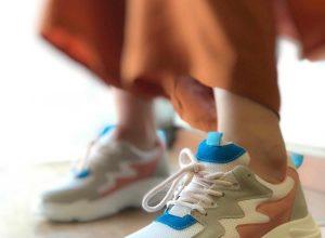 Kalın Taban Spor Ayakkabı