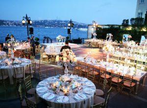 İstanbul'daki En İyi Düğün Mekânları